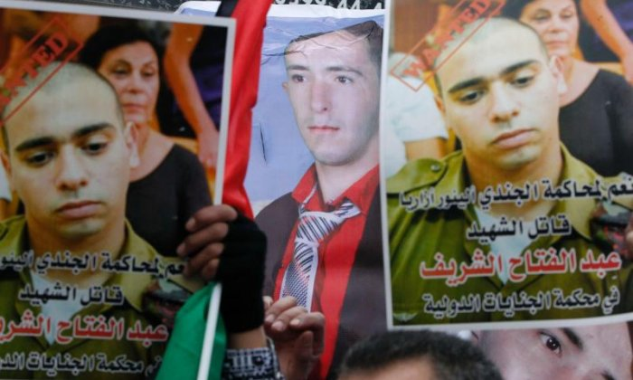 The trial of Ezor Azaria has sparked huge protest among the Palestinian community