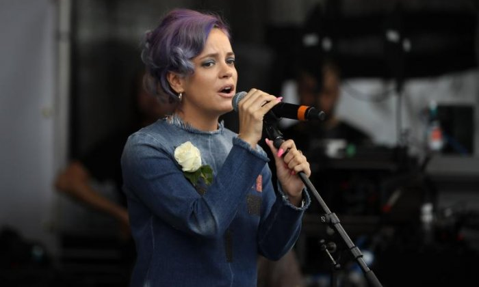 Lily Allen creates shock in Twitter row with 'white male sexual assault claims'