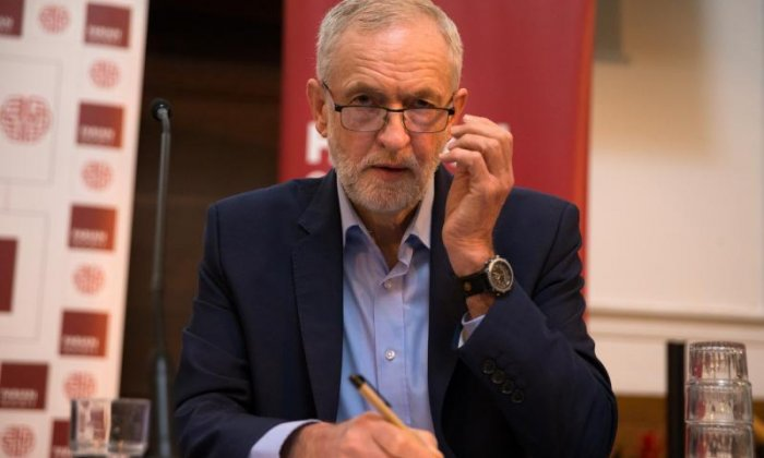 Jeremy Corbyn offers condolences to family of police officer, who is actually still alive