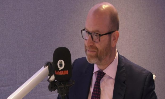 UKIP leader Paul Nuttall says 'it's great to see Mark Carney and the Brexit doom-mongers eat their words'