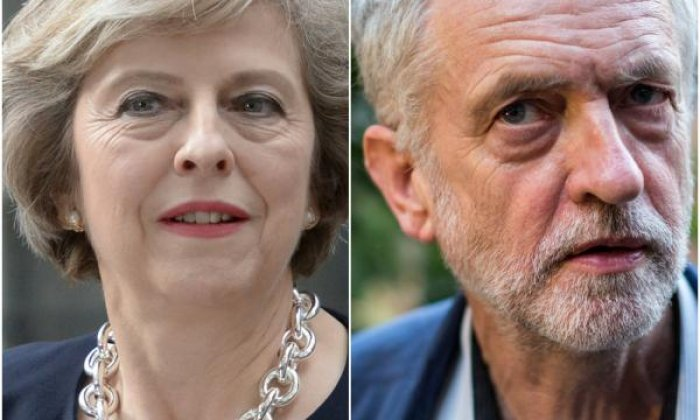 Twitter divided over Theresa May and Jeremy Corbyn in PMQs