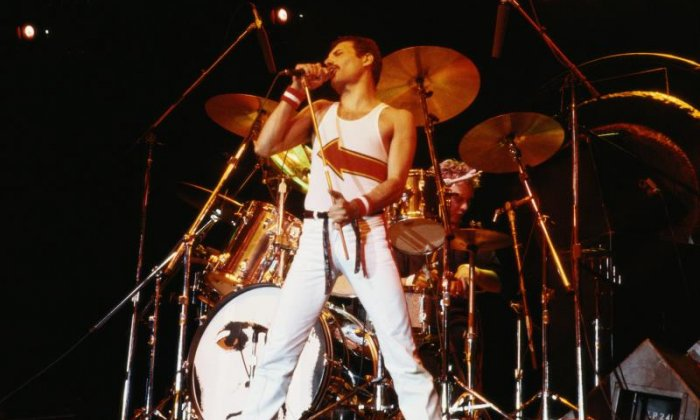 Iain did his best Freddie Mercury impression live on air