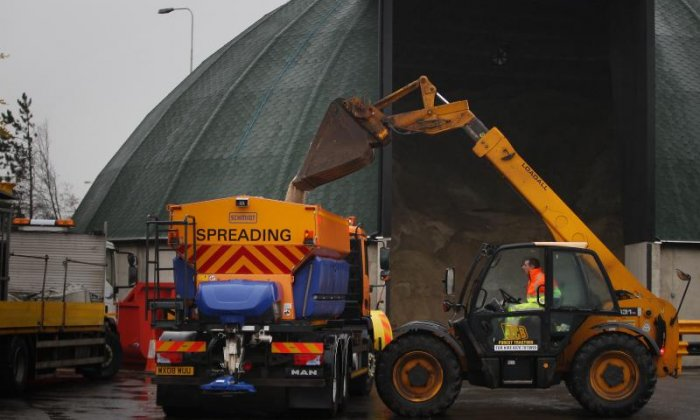 Missing boy found after police officer commandeers a gritter lorry