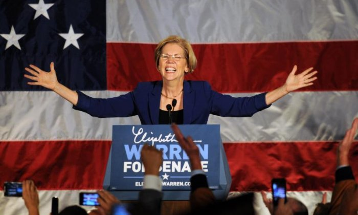 #LetLiz Speak - Supports grows for Elizabeth Warren after Senate silencing