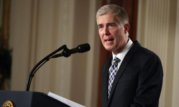 Gorsuch Started 'Fascism Forever' Club