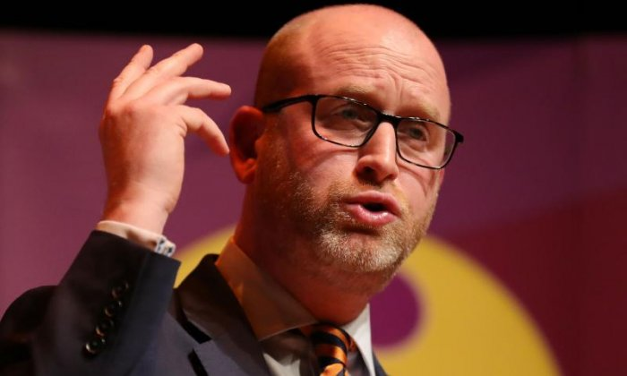UKIP leader Paul Nuttall supports spokesman John Bickley after tweeting racist slogan