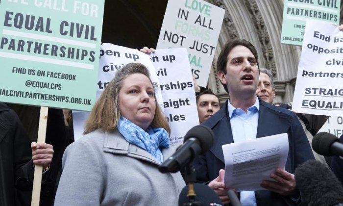 Civil partnerships: 'The law must catch up with the development of modern families,' says campaigner Rebecca Steinfeld