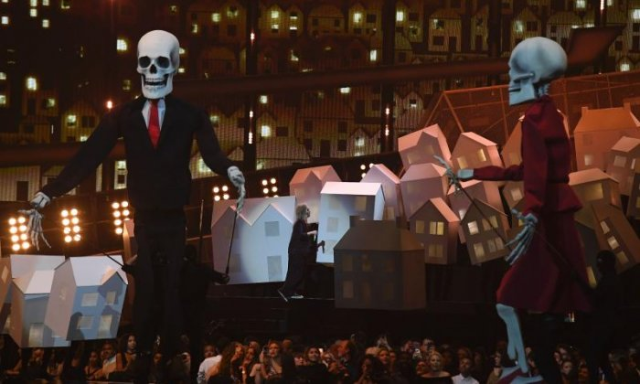 Songwriters, skeletons and dancing houses - It's the Brit Awards showbiz special with talkSPORT's Reece