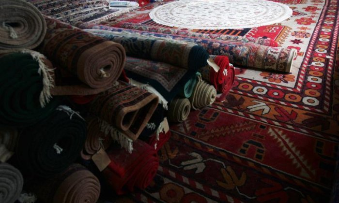 The Big Debate on carpets: 'Remember the carpet bombing when America dropped an Axminster on Hiroshima?'
