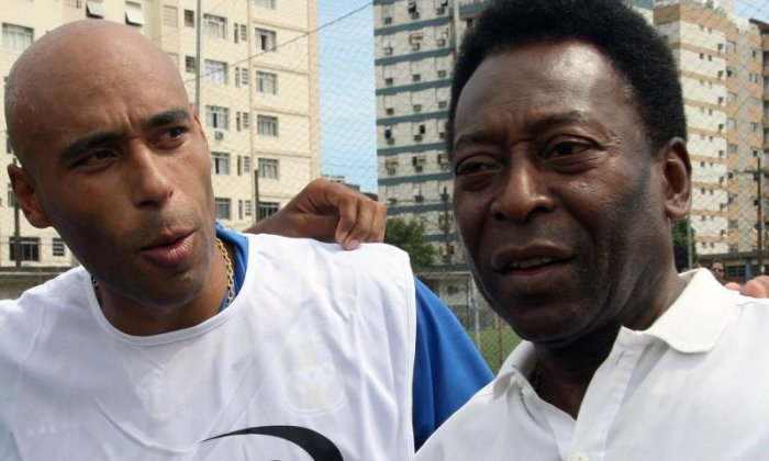 Edinho, like Pele, played for Santos but enjoyed little success during his playing career