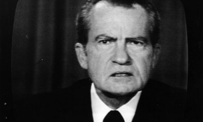 Richard Nixon: 'When the president does it, that means it's not illegal.'