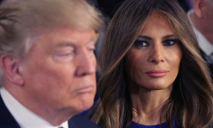 Melania Trump doesn't share a bed with Donald and doesn't hide her misery, family source claims