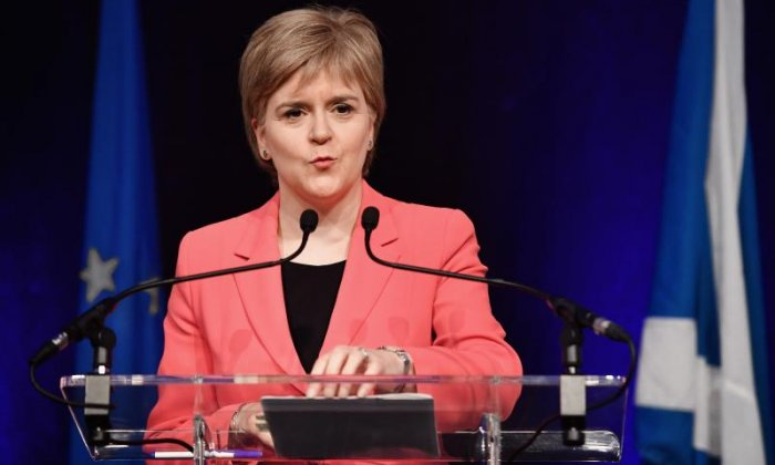 Poll shows more Scots support Theresa May's UK vision over Nicola Sturgeon's independence bid