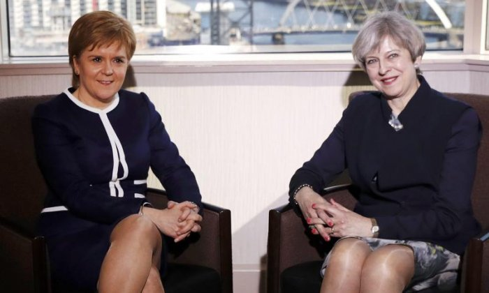 'Whilst Theresa May is in power there won't be a Scottish independence referendum', says political commentator