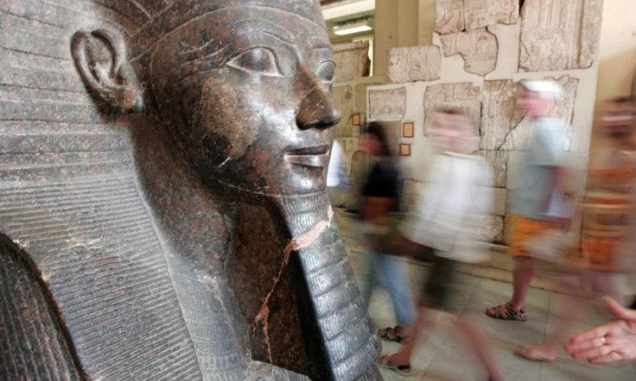 Archeologists discover 3,000-year-old ancient pharaoh statues in Cairo