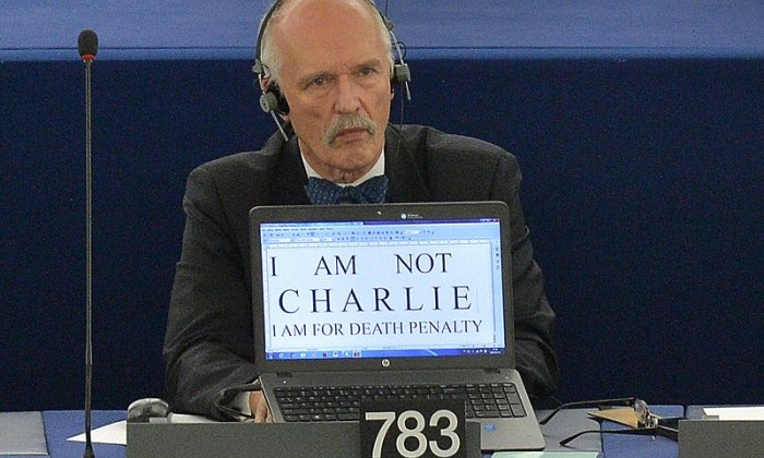 Janusz Korwin-Mikke has sparked fury with his comments on women