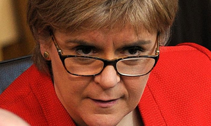 Nicola Sturgeon is determined to force another referendum on Scottish independence