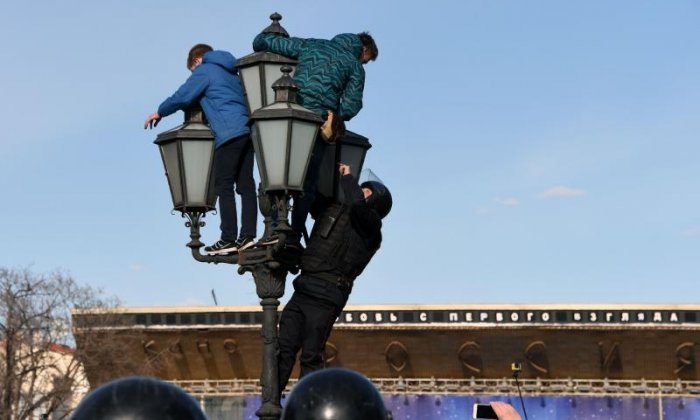 Alexei Navalny, Putin's most prominent critic, was a figurehead of the protests