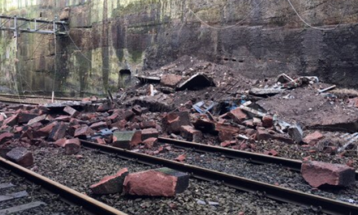 Train crash narrowly avoided at Liverpool Lime Street station after debris falls onto track