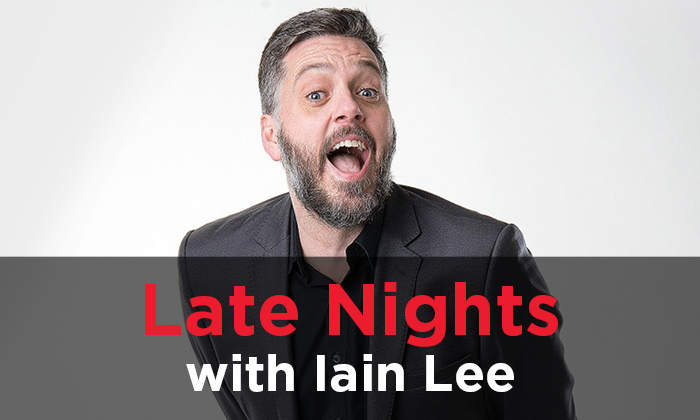 Late Nights with Iain Lee: Foot Mittens