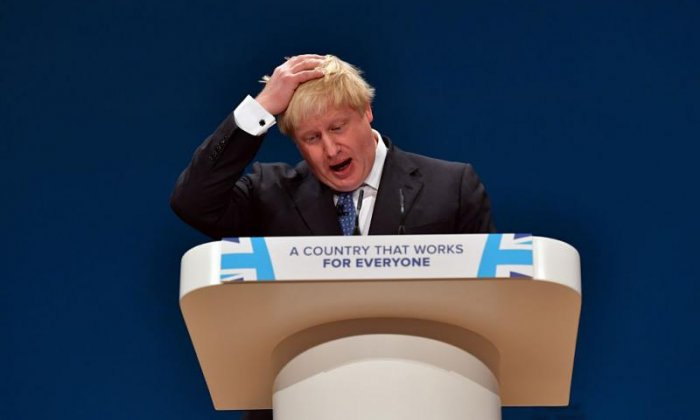 Johnson has suggested the money will go to 'our priorities' rather than the NHS