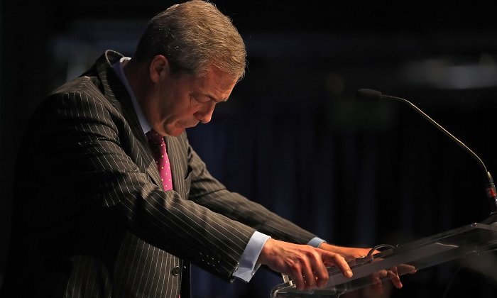 Farage has refused to stand in the forthcoming election