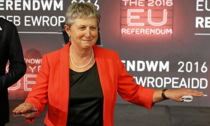Gisela Stuart says Jeremy Corbyn has nothing to do with her decision to step down