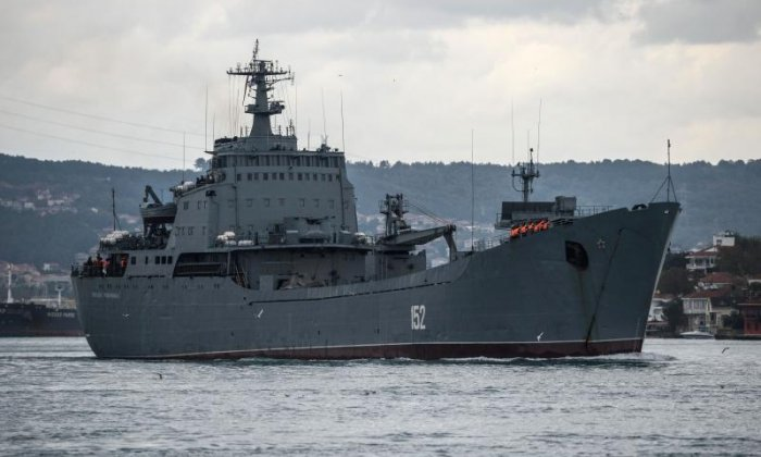 All Russian sailors rescued after ship collision off Istanbul