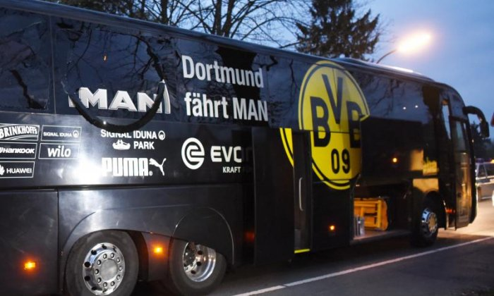 Suspect detained over Dortmund bus attack has links to Islamic State