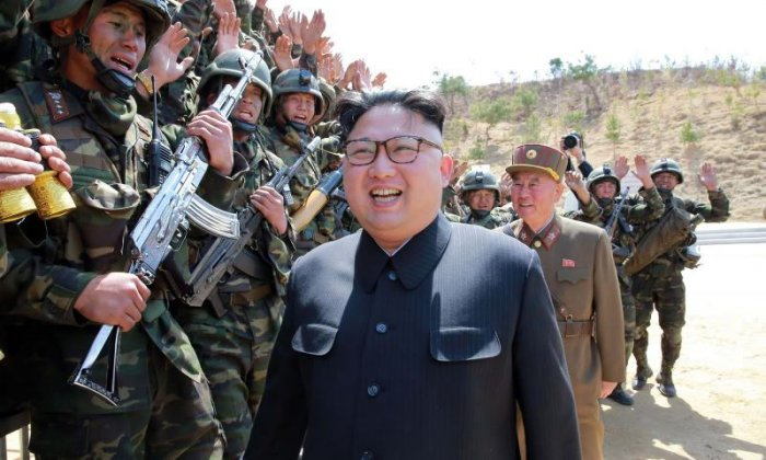 South Korea claims North Korea has carried out a 'large-scale' artillery drill
