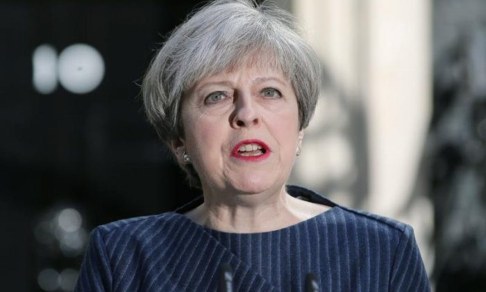 British PM Theresa May calls for early election on June 8