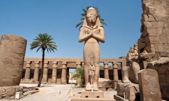 The ancient tomb was found near Luxor, one of the world's richest archaeological sites (stock photo)