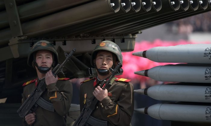 North Korea Rolls Out Missiles, Other Weaponry At Huge Parade