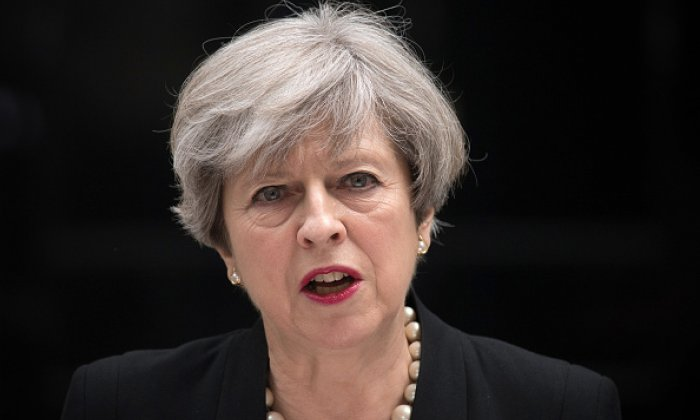 'It's a disgrace to say the threat level has been raised to benefit Theresa May's popularity', says former counter-terrorism detective