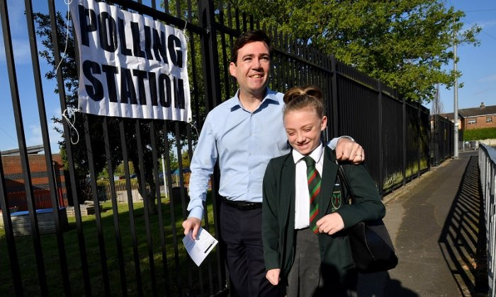 Andy Burnham stepped down from the shadow cabinet last year to focus on his bid for the mayoralty