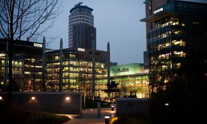 BBC staff evacuated at Media City
