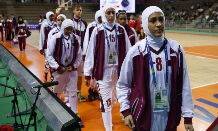 Basketball rules change to allow players to wear hijabs