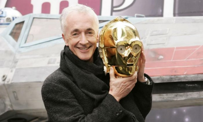 'I wondered what on earth I'd got myself into when I first appeared in Star Wars', says C-3PO actor Anthony Daniels