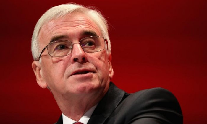 What is your view on John McDonnell's comments on the IRA?