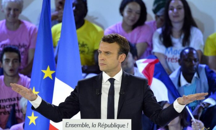 France's Macron joins ranks of world's youngest leaders