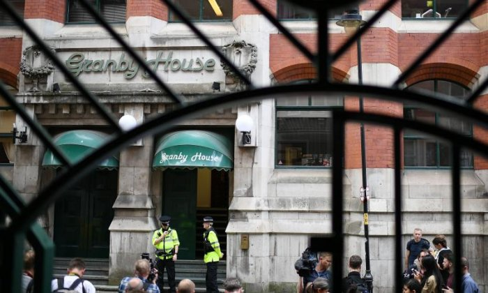 Armed police raid property in Manchester linked with terror attack