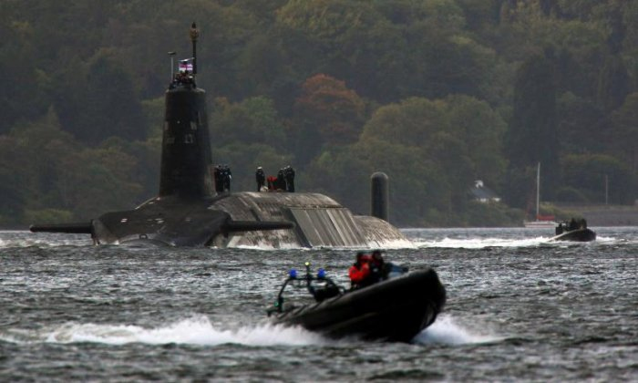 'It's a bad position when Prime Ministers have to be psychopaths or pretend to be one', claims communist party general secretary Robert Griffiths about Trident