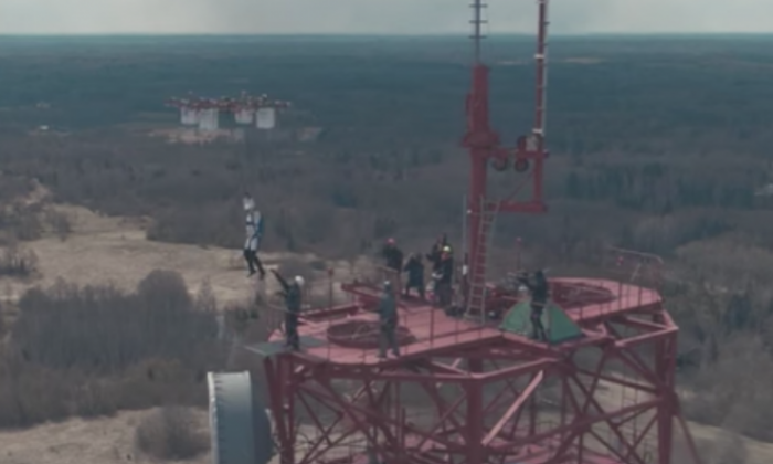 Latvian man makes history by completing drone jump