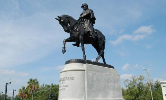 New Orleans authorities remove third monument from Confederate era