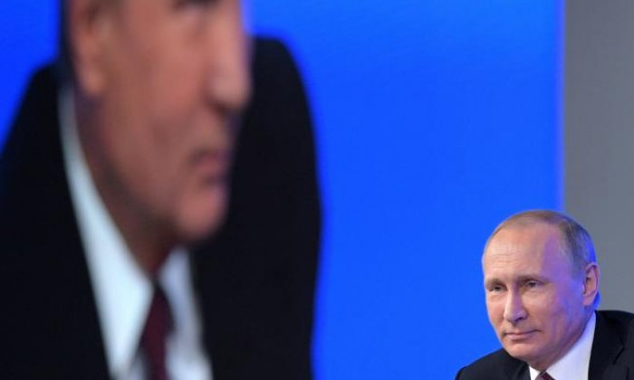 Vladimir Putin said the Russian state is not involved in hacking