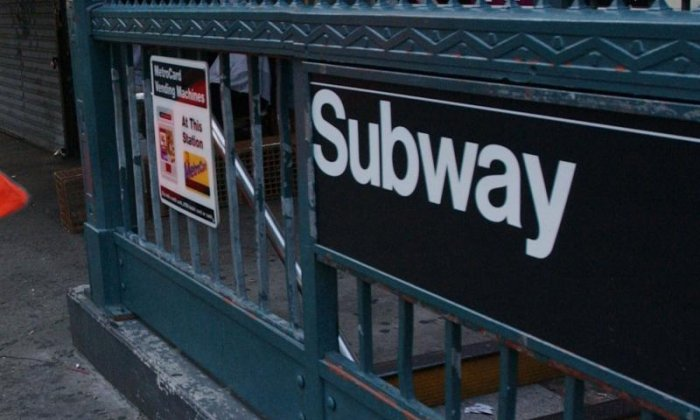 Mother arrested after 'pushing two-year-old down stairs at New York subway station'