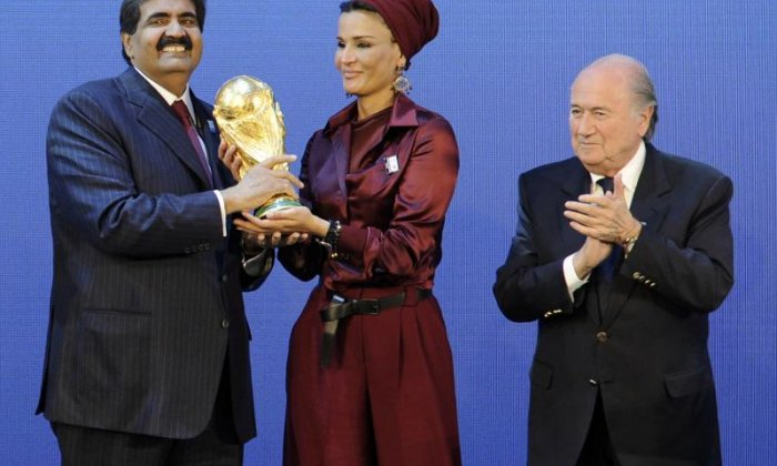 Qatar was awarded the World Cup in 2010