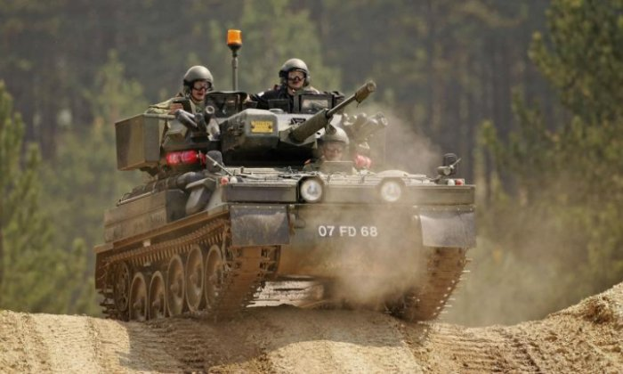 Soldier killed in incident involving tank at Ministry of Defence base
