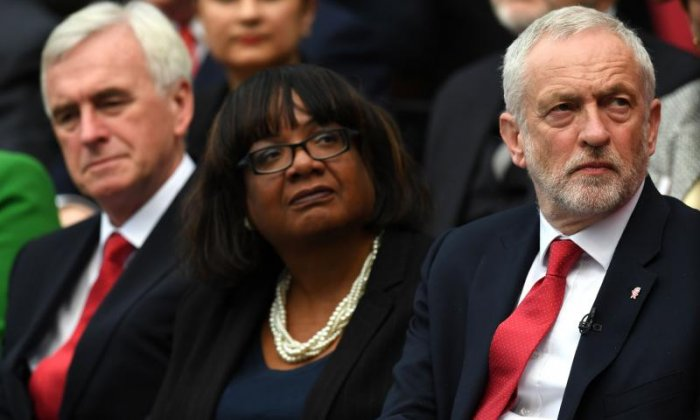 Diane Abbott and John McDonnell expected to speak at demonstration against Theresa May