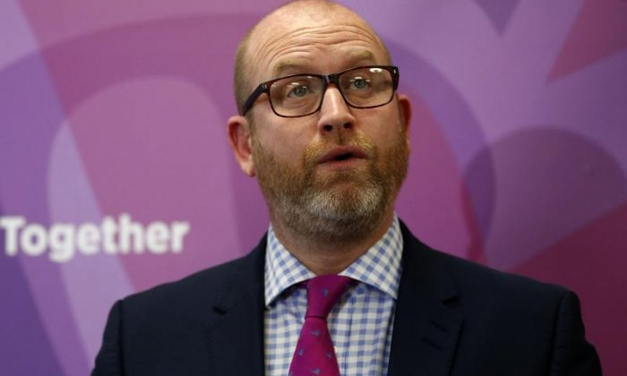 UKIP's Paul Nuttall says 'Theresa May will struggle in Brexit negotiations and won't get the deal the public wants'